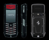 Vertu Ascent Ti Ferrari Nero Limited Edition