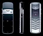 Vertu Signature Stainless Steel Reflective